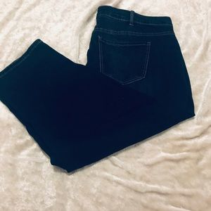 Lane Bryant cropped jeans
